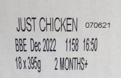 Forthglade Just Chicken Label