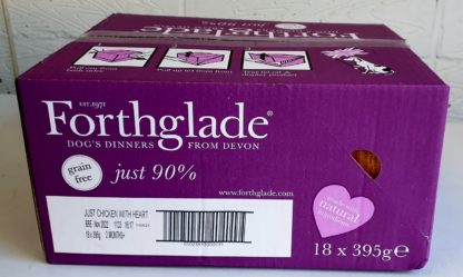 Forthglade Just Chicken with Heart Box