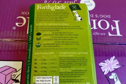 Forthglade Just Lamb Feeding Guide