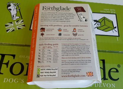 Forthglade Puppy Turkey with Butternut Squash and Veg Feeding Guide