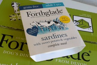 Forthglade Sardines with Sweet Potato and Veg Complete