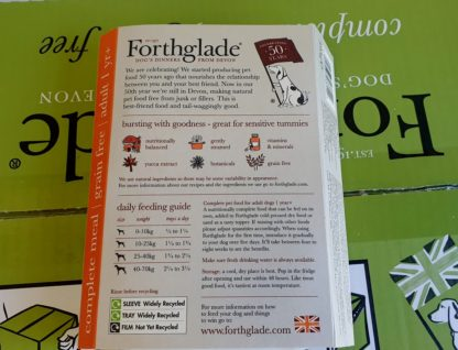 Forthglade Turkey with Sweet potato and Veg Feeding Guide