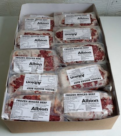 Albion Value Beef Box of 20