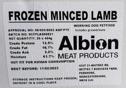Albion Value Lamb Lamb