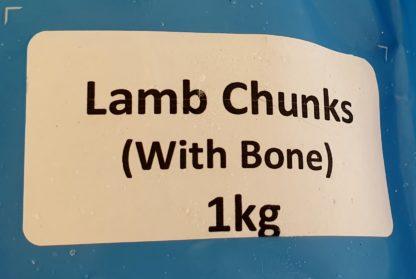 Daf Lamb Chunks Label