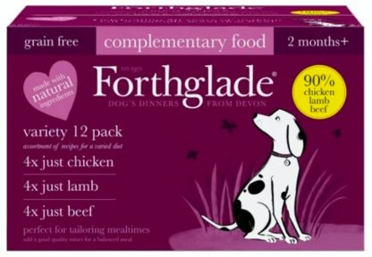 Forthglade Variety 12 Pack Chicken Lamb Beef
